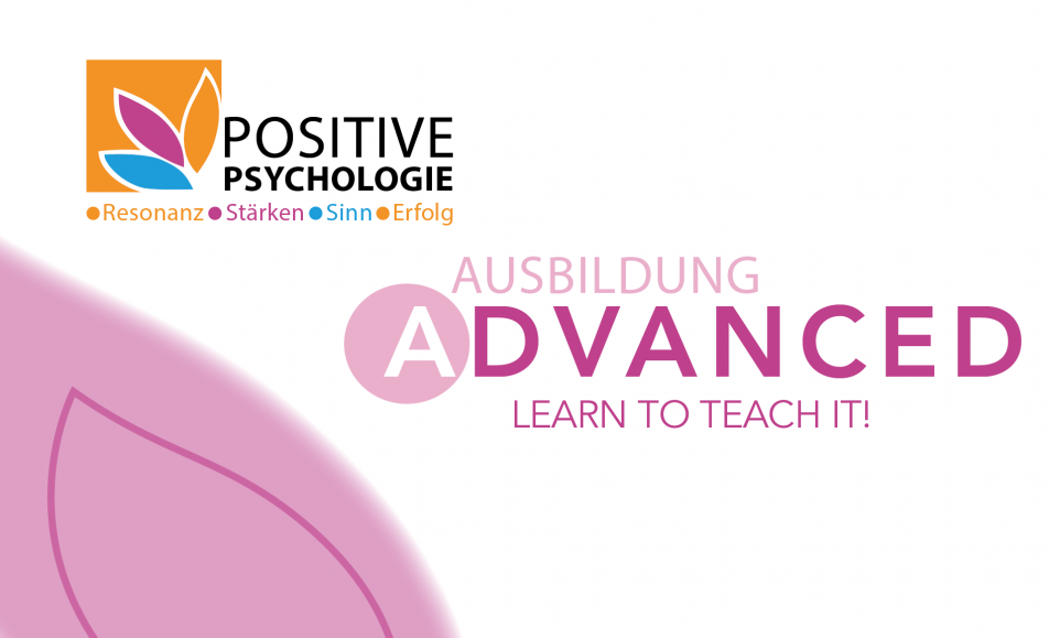 Positive Psychologie Advanced Curriculum DG 4