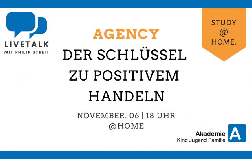 Agency - Der Schlüssel zu Positivem Handeln