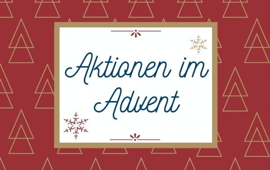 Aktionen im Advent
