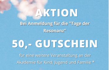 """Gemeinsam in Resonanz – Gutschein & """"Bring a friend"""" Aktion"""